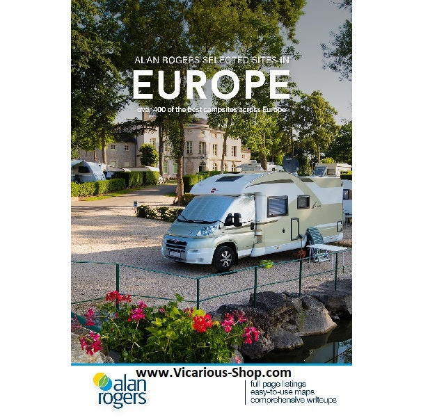 2020 Alan Rogers Camping Europe 52nd Edition 9781909057944 front cover