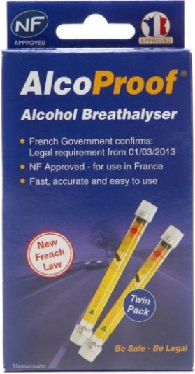 NF AlcoSense Proof Breathalyser Travelspot
