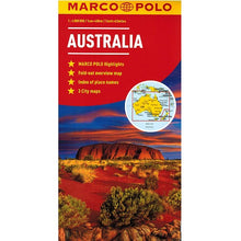 Load image into Gallery viewer, Marco Polo Australia Sheet Map IBSN:9783829767460 Atlas, Altases, Map, Mapping, Locator map