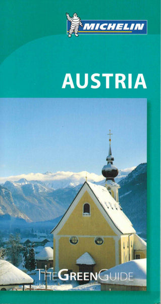 Austria - Michelin Green Guide IBSN:9782067197572 Travelguide, Tour, Driving Tour