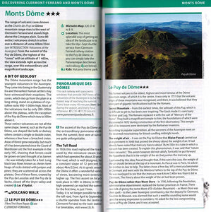 Auvergne Rhone Valley - Michelin Green Guide 9782067229532 discovering clermont-ferrand and monts dome