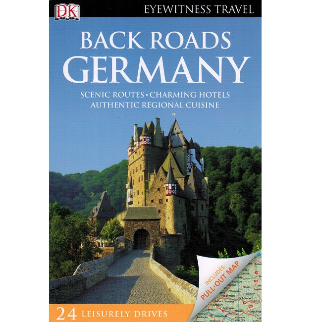 Back Roads of Germany 9780241264164 DK Eyewitness Travel guide front cover