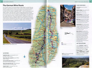 Back Roads of Germany 9780241264164 DK Eyewitness Travel guide wine route