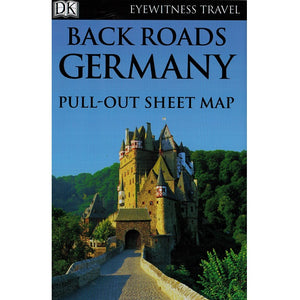 Back Roads of Germany 9780241264164 DK Eyewitness Travel guide sheet map