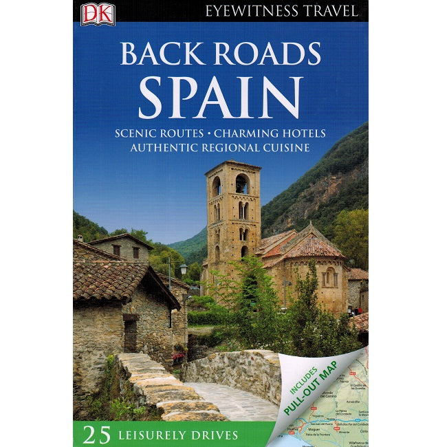 Back Roads of Spain 9780241208090 DK Eyewitness Travel guide front cover