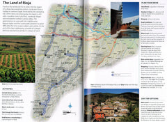 Back Roads of Spain 9780241208090 DK Eyewitness Travel guide the land of rioja map