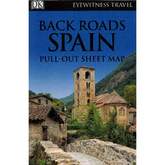 Back Roads of Spain 9780241208090 DK Eyewitness Travel guide locator map