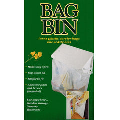 Bag Bin for Plastic Carrier Bags 5014433250999 space saving bin for motorhomes campervans caravans
