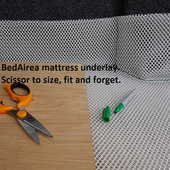 Fit a BedAirer mat for a dry mattress. Anti condensation underlay to prevent mould and mildew
