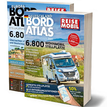 Load image into Gallery viewer, Reise Mobil Bord Atlas 2021 Stellplatze Germany