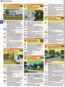 Reise Mobil Bord Atlas 2020 German Stellplatze Guide motorhome stopover europe 9783928803878 entry preview germany german