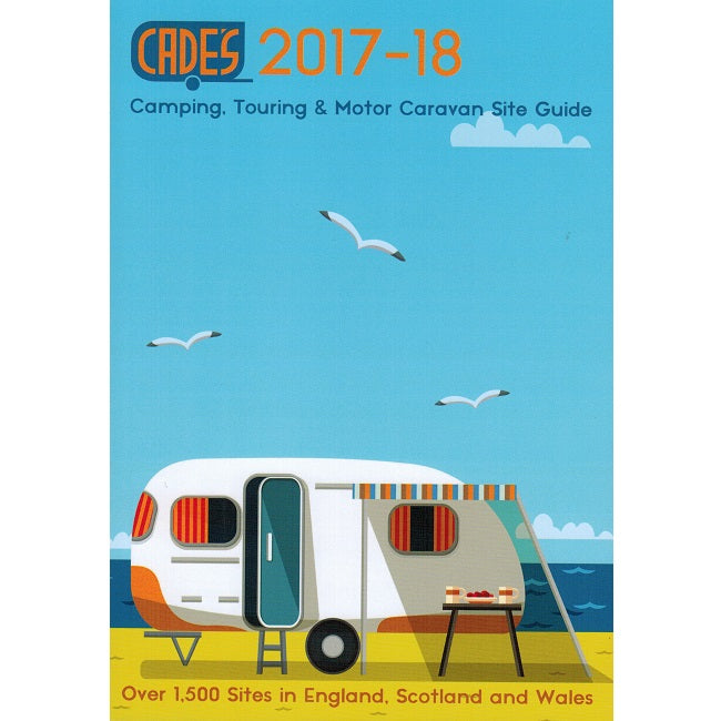 Cade's UK Camping, Touring and Motor Caravan Site Guide 2018 9781905963195 front cover