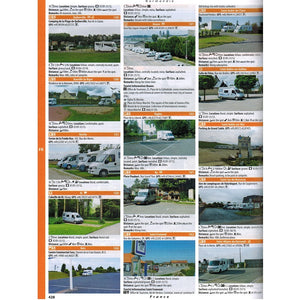 Camperstop Europe 2020 Aires Stellplatze Sosta Motorhome Stopovers Guide aires entry preview france