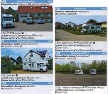 Load image into Gallery viewer, Camperstop Europe 2020 Aires Stellplatze Sosta Motorhome Stopovers Guide entry preview aires saarbrucken