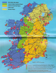 camping and caravaning motorhome guide ireland 2020 map preview