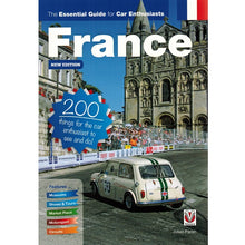 Load image into Gallery viewer, The Essential Guide for Car Enthusiasts in France 9781787110571 front cover