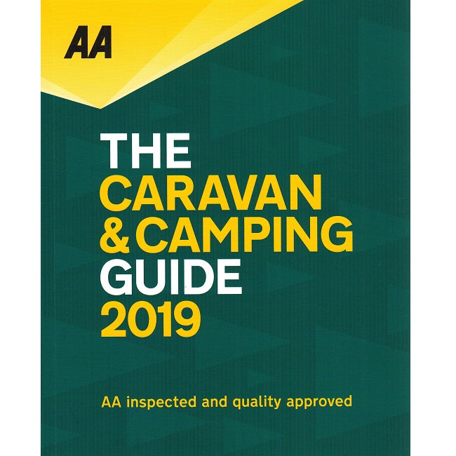 AA Caravan and Camping UK Guide 2018 51st Edition 9780749579852 front cover