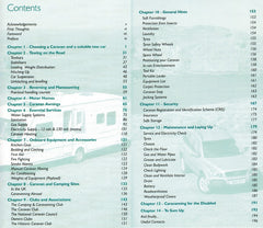 The Caravan and Motorhome Handbook 9780954069230 John Marchmont contents