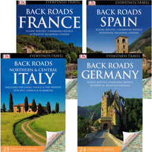 Load image into Gallery viewer, Back roads publications france spain italy germany dk eyewitness travel