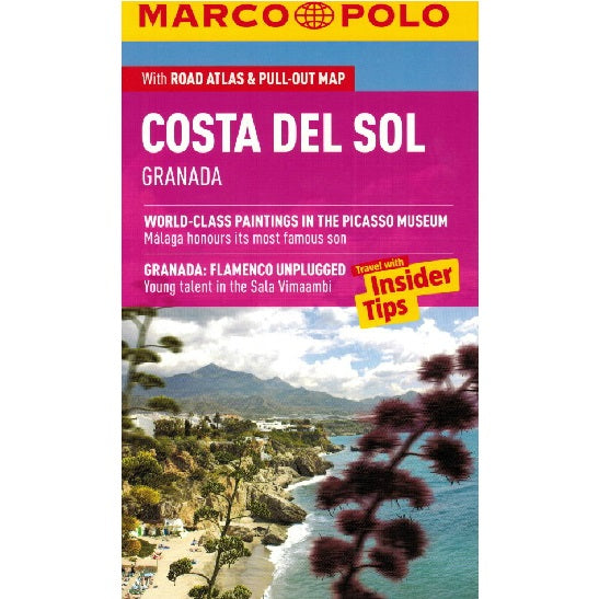 Marco Polo Costa Del Sol Guide IBSN:9783829707121 Travelguide, Tour, Driving Tour