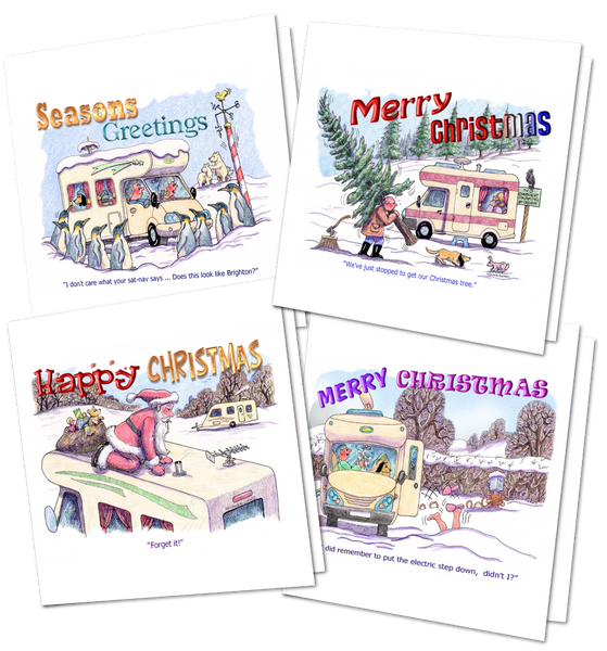 Christmas Cards For Motorhomers and Caravanners