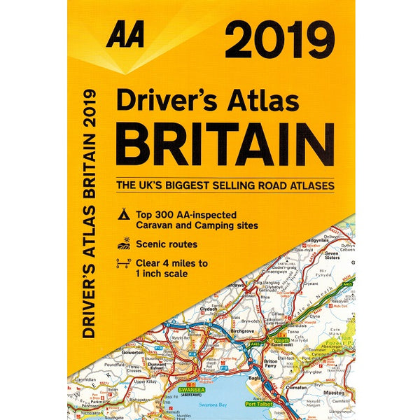 2019 AA Driver's Atlas Britain 9780749579524 front cover
