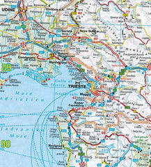2019 AA Europe Road Atlas Spiralbound 9780749579678 trieste