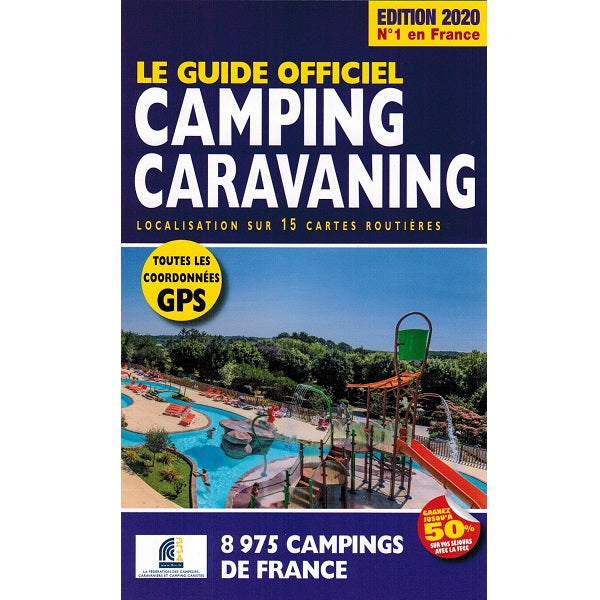 Every Campsite in France 2020 9782380770049 front cover