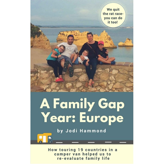 A Family Gap Year: Europe by Jodi Hammond B07BS2GQYT front cover
