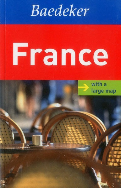 Baedeker - France with Map