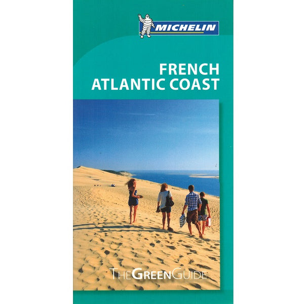 French Atlantic Coast - Michelin Green Guide IBSN:9782067220539 Travelguide, Tour, Driving Tour front cover