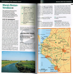 French Atlantic Coast - Michelin Green Guide IBSN:9782067220539 Travelguide, Tour, Driving Tour marais breton-vendeen