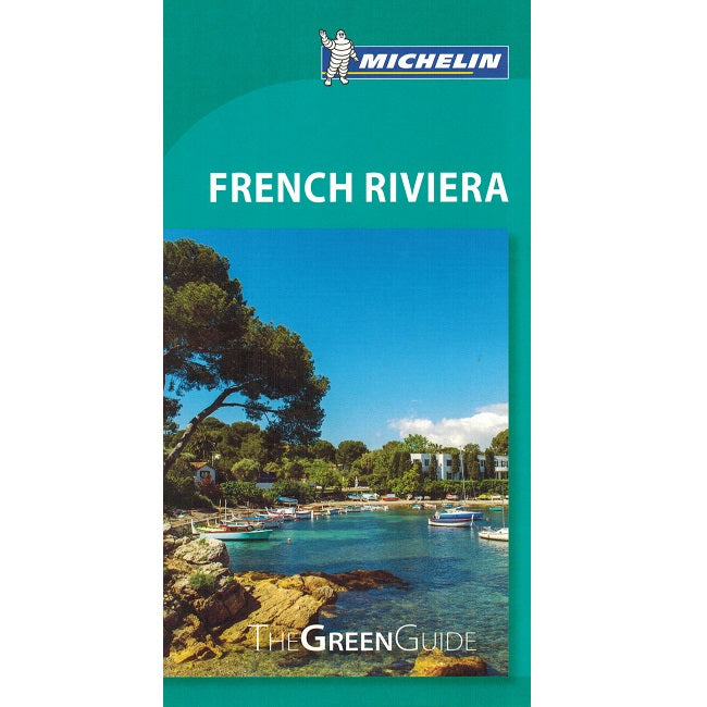 French Riviera - Michelin Green Guide IBSN:9782067206625 Travelguide, Tour, Driving Tour front cover