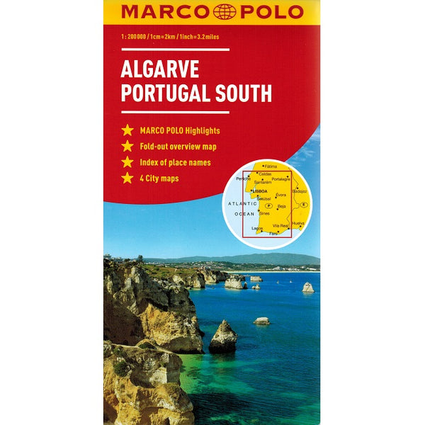 Algarve Portugal South 9783829767545 front cover