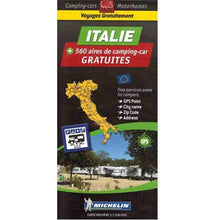 Load image into Gallery viewer, Michelin Italy Trailer's Park Aires Map 9782919004379