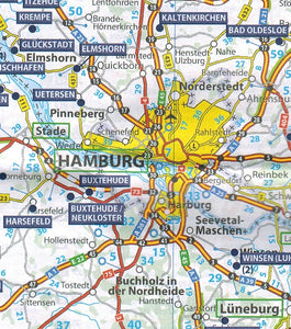 Germany Trailers Park Aires Map 9782919004454 michelin hamburg