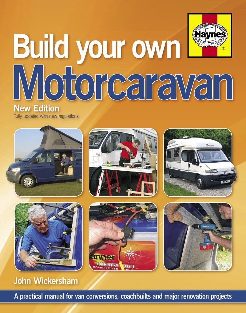 Haynes Build Your Own Motorcaravan - 2nd Edition IBSN:9780857332813Motorhome Reference Book