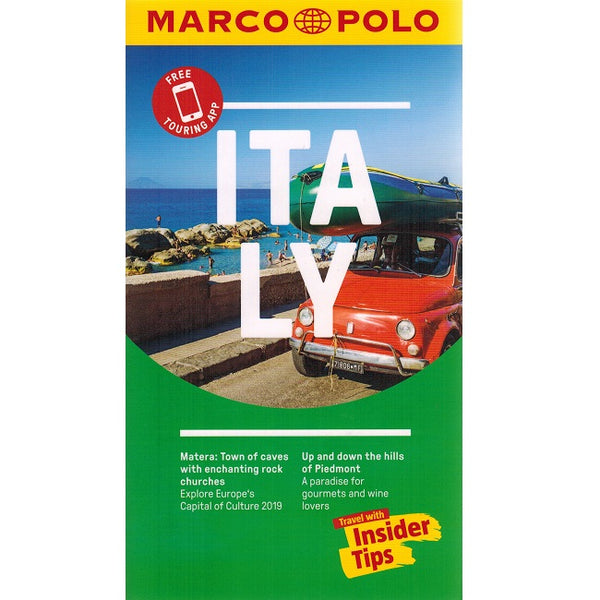 Marco Polo Italy Guide 9783829707695 front cover