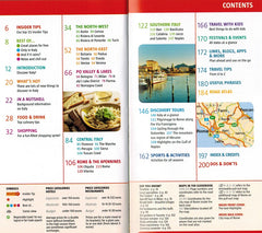 Marco Polo Italy Guide 9783829707695 Contents page