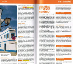 Marco Polo Algarve Guide 9783829707954 tavira the sotavento vila real de santo antonio