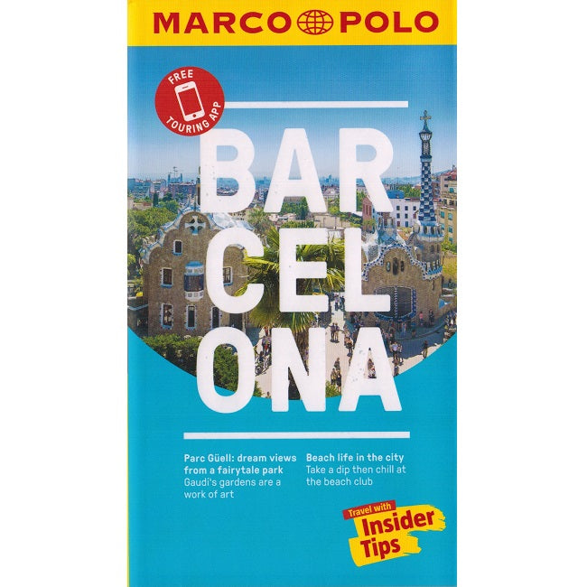 Marco Polo Barcelona Guide 9783829707626 front cover
