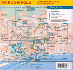Marco Polo Barcelona Guide 9783829707626 back of book cover