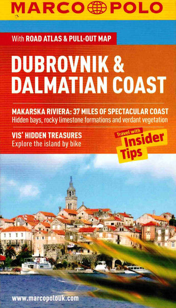 Marco Polo Dubrovnik and the Dalmatian Coast IBSN:9783829706568 Travelguide, Tour, Driving Tour