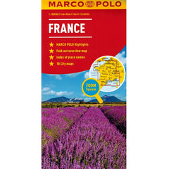 Marco Polo France Sheet Map 9783829767217 front cover