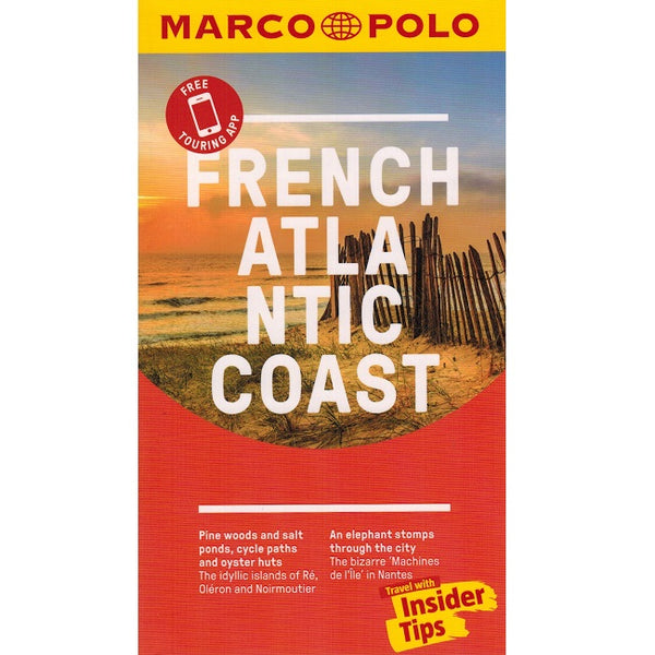 Marco Polo French Atlantic Coast Guide 9783829757584 front cover