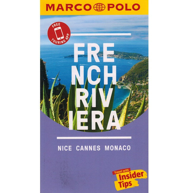 Marco Polo French Riviera Guide 9783829707671 front cover