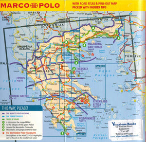 Marco Polo Greece Guide IBSN:9783829707305 Travelguide, Tour, Driving Tour