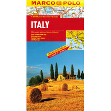 Load image into Gallery viewer, Marco Polo Italy Sheet Map IBSN:9783829767255 Atlas, Altases, Map, Mapping, Locator map