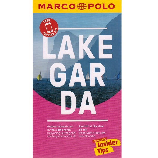 Marco Polo Lake Garda Guide 9783829707718 front cover