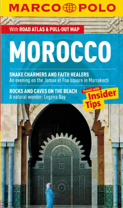 Marco Polo Morocco Guide IBSN:9783829706988 Travelguide, Tour, Driving Tour